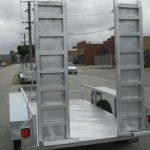 10X5 Galvanised Machinery Trailer