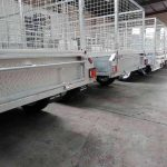 8X5 Tandem Fully Welded Trailer