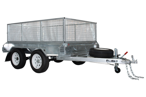 10X5 Tandem Fully Welded Trailer