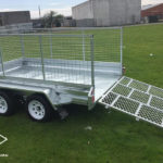 10X6 Box Trailer with Ramp