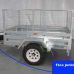 6×4 Trailer Single Axle