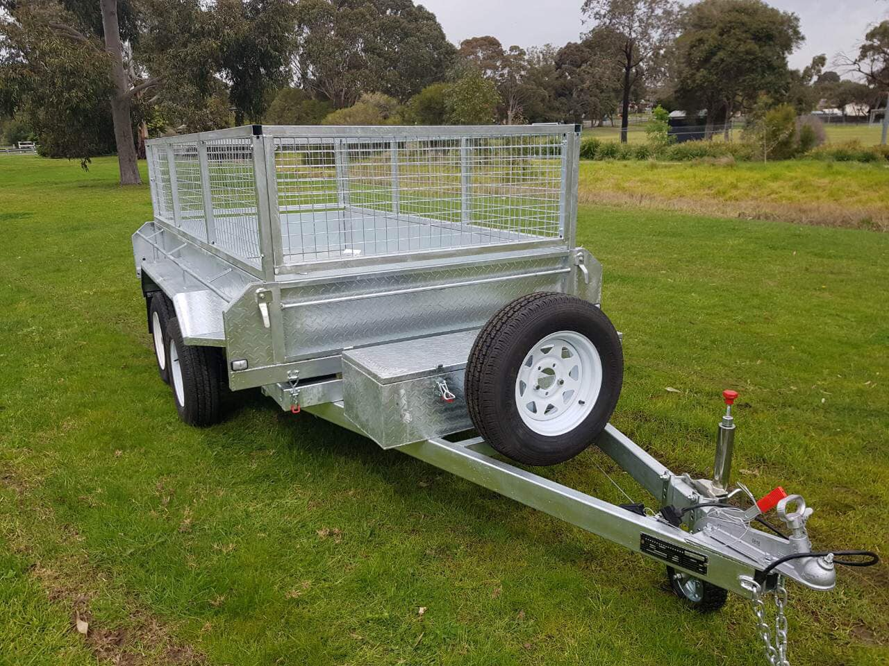 10×5 Hydraulic Tipper Trailer