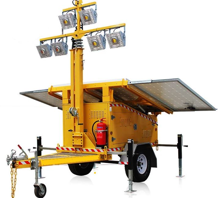 Single Axle Solar Trailers