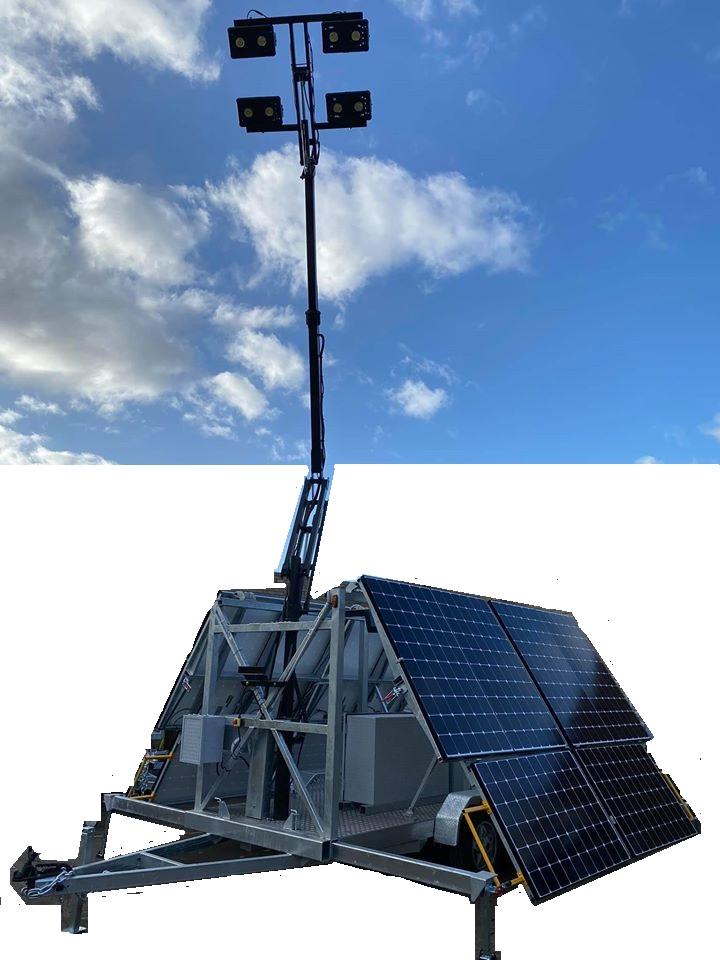 Tandem Solar Trailers