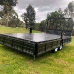 Truck Tray Flat Top Trailer